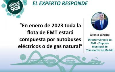 LA EMPRESA MUNICIPAL DE TRANSPORTES DE MADRID RESPONDE: Alfonso Sánchez, director gerente